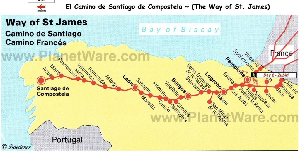 The Route – Camino Wanderers II on